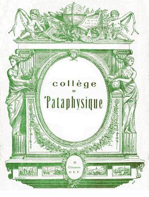 Collège de 'Pataphysique