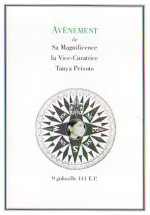 Fifth Magisterium of Her Magnificence Tanya Peixoto